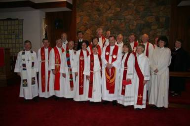 Pastor Lou Florio's Ordination (8 December 2007)