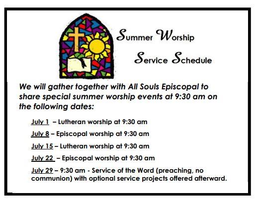 summer 18 worship
