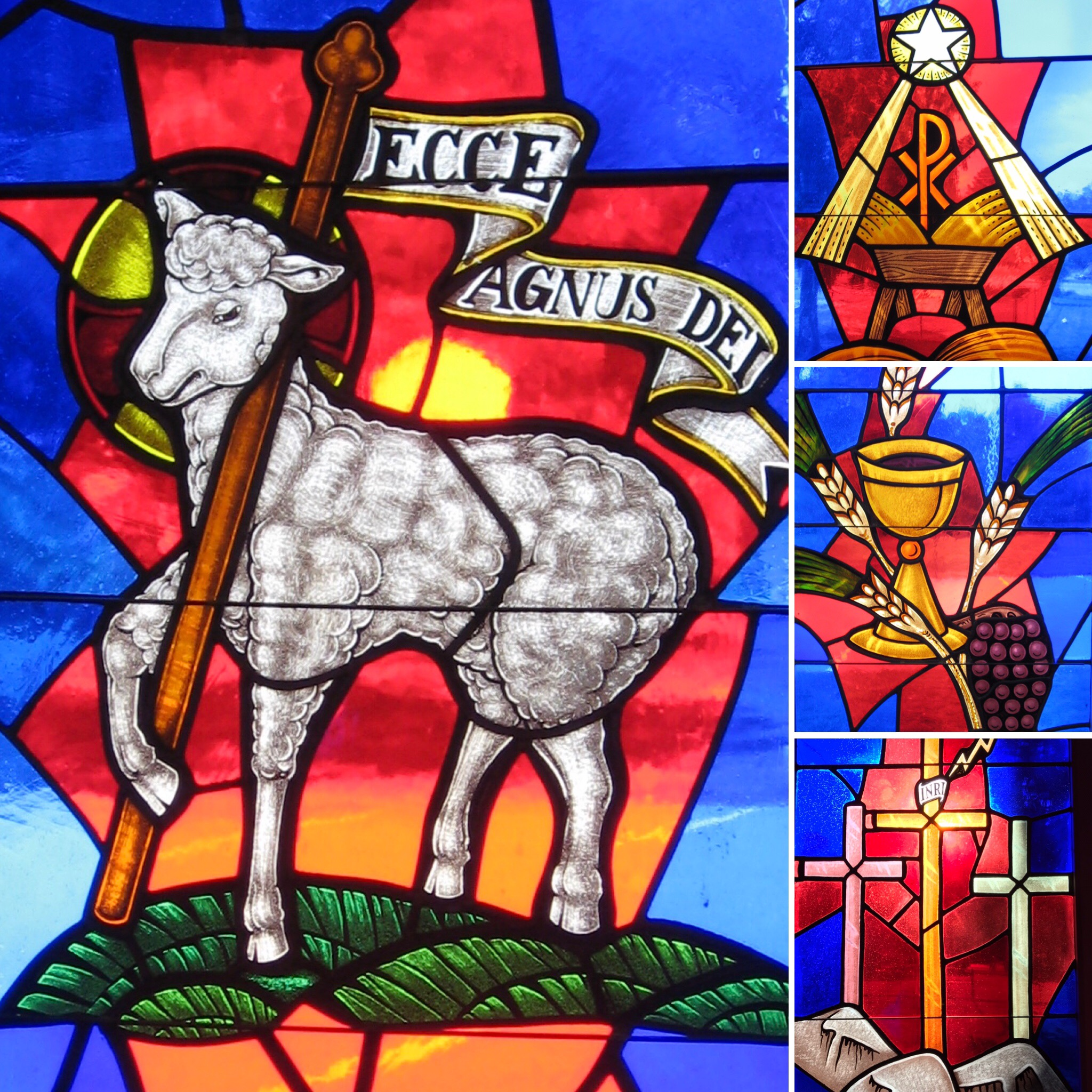 stained glass 50th